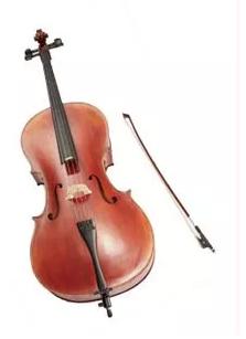EYS音楽教室でもらえるチェロ-画像