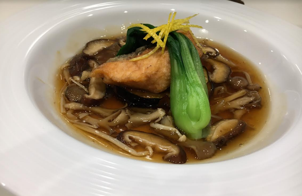 ライザップの料理教室の和食体験レッスン-秋鮭と米ナスのきのこあんかけ-画像