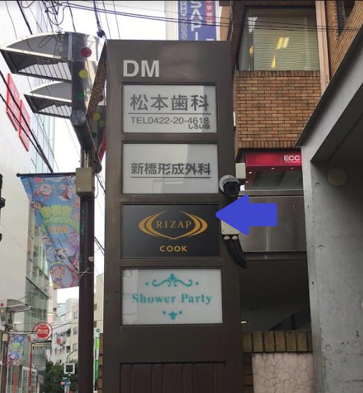 ライザップクック吉祥寺店-ビルの入り口-画像